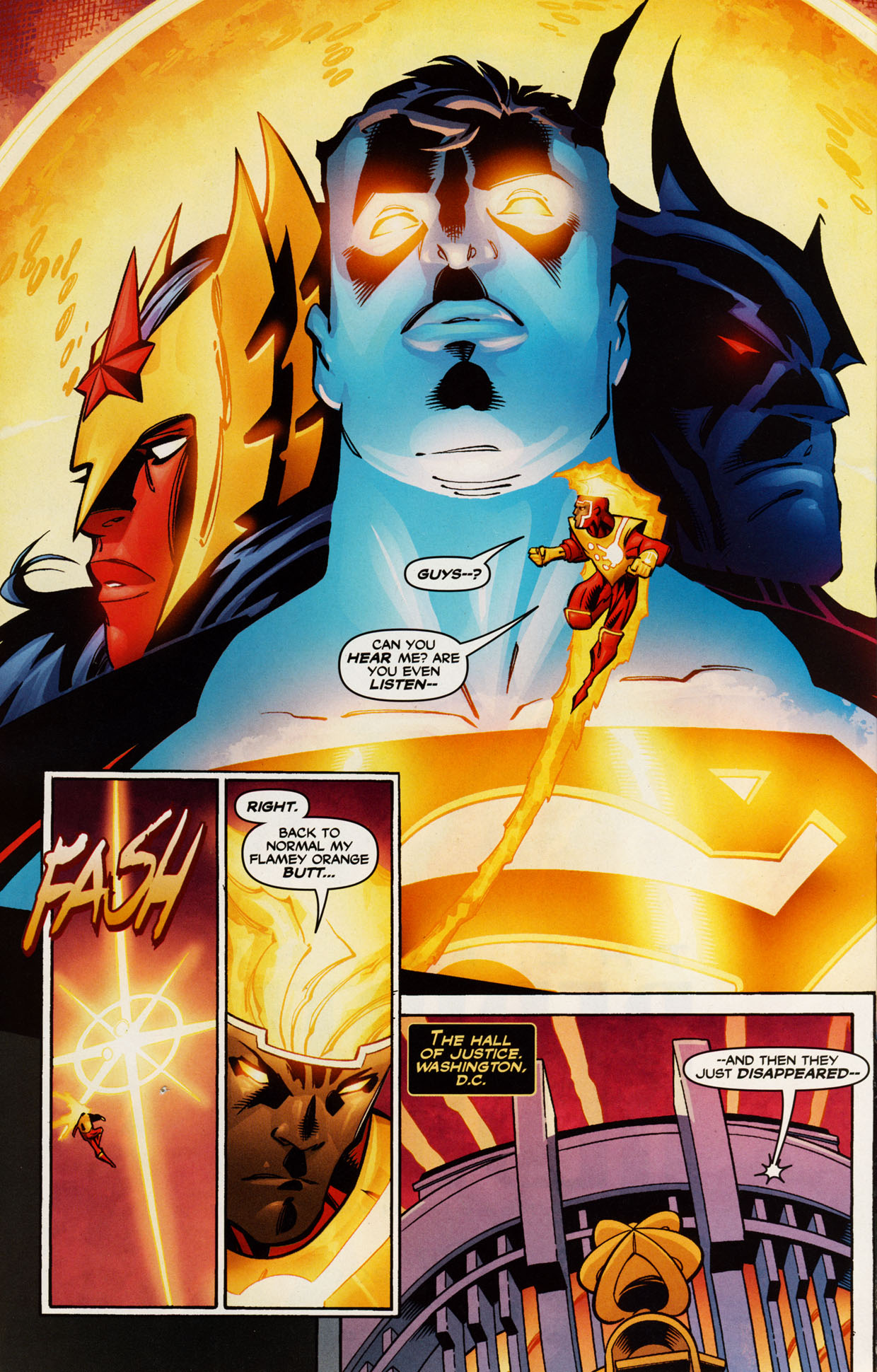 Read online Trinity (2008) comic -  Issue #42 - 24