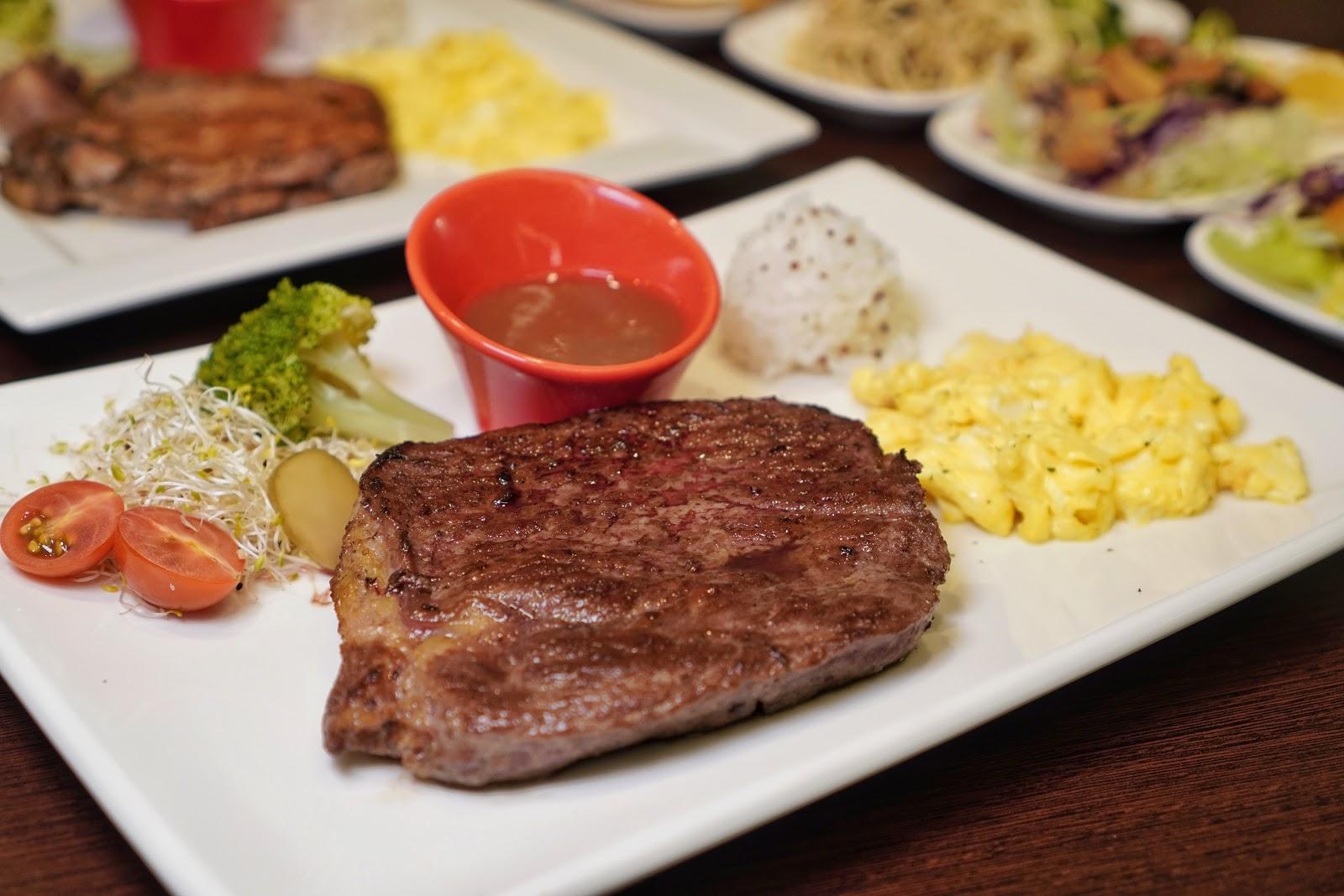 台南東區美食【大大力牛排館】餐點介紹厚切沙朗