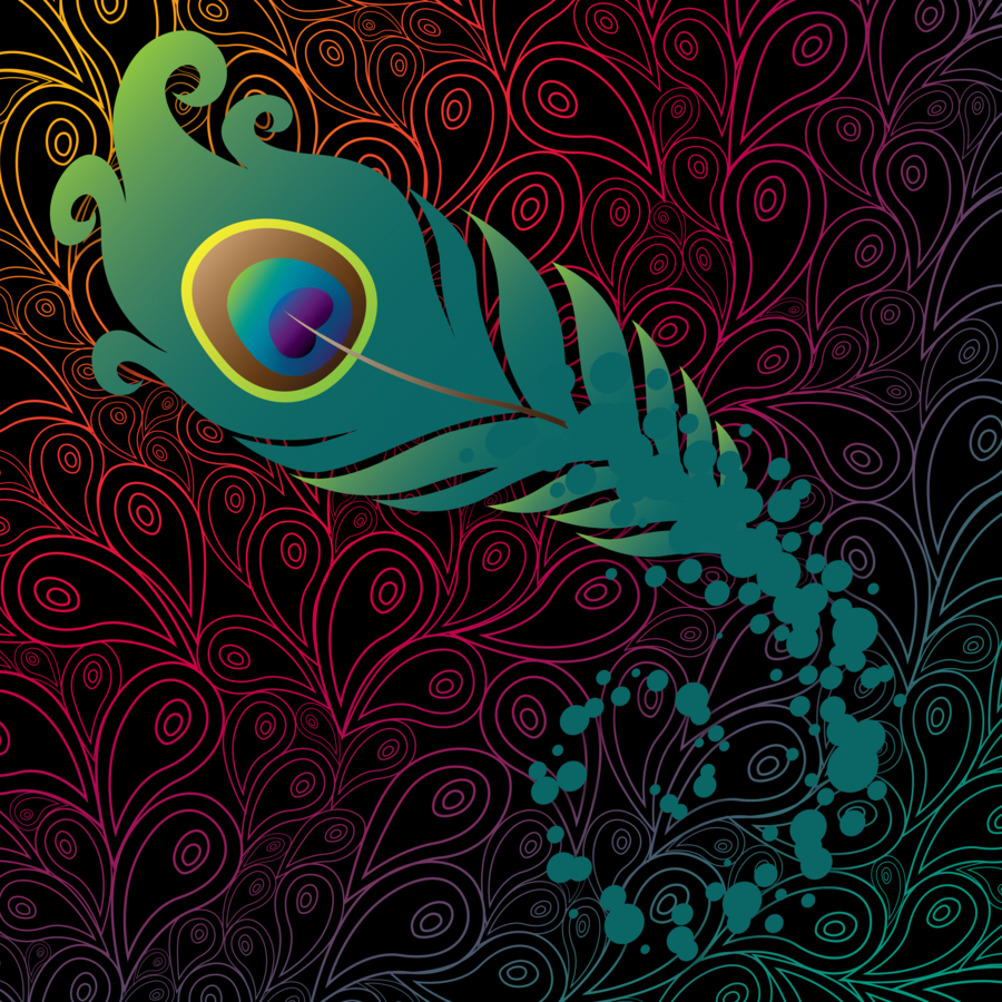 WalliePad-Wallpapers For IPad: Peacock IPad Wallpaper