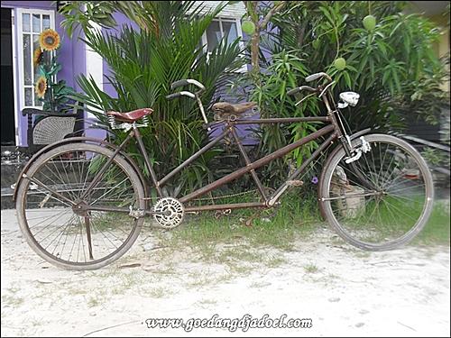 Goedangdjadoel Antiques Sepeda Ontel Tandem Antik Modifikasi 1988 Sold