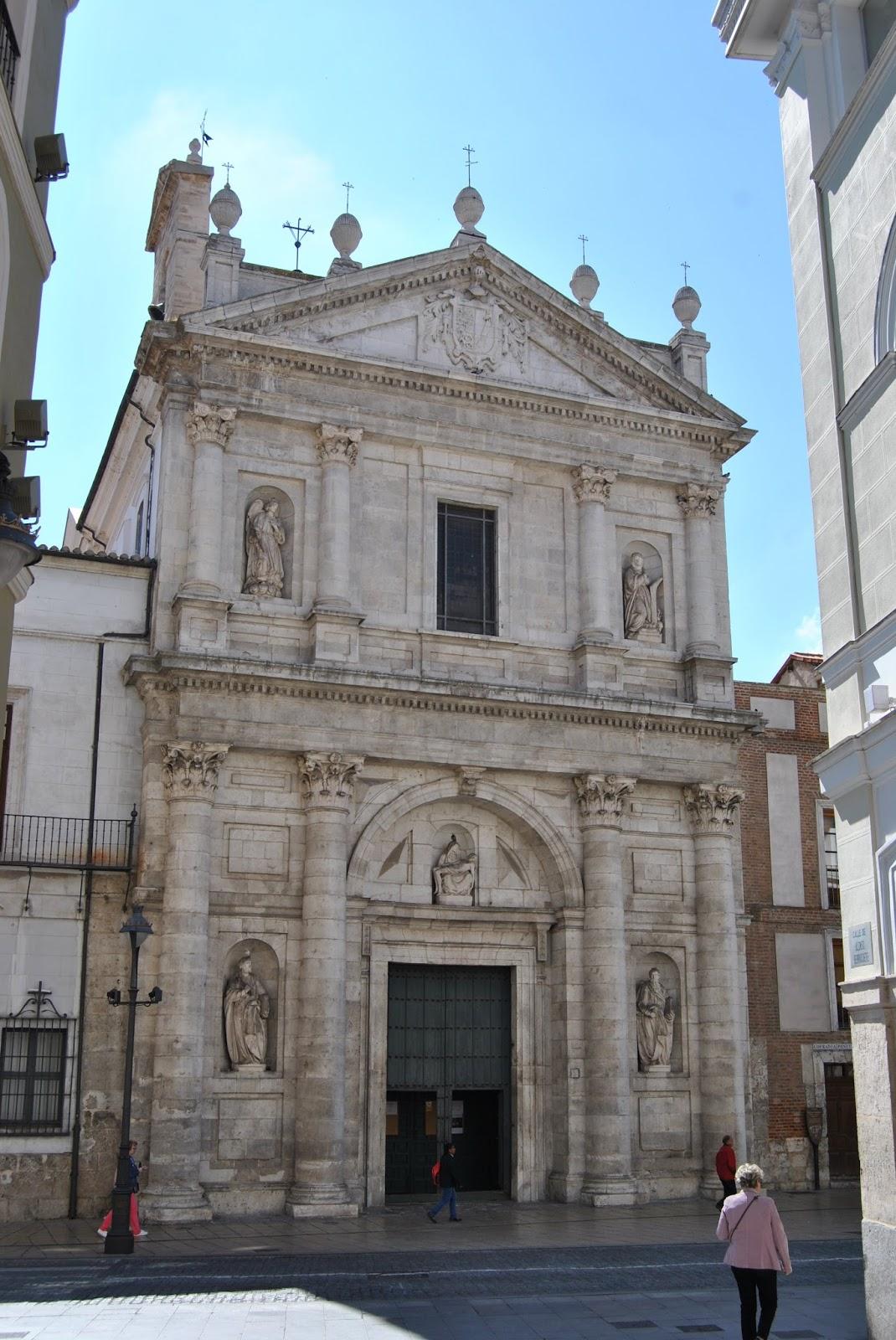 Arte en valladolid la fachada de la iglesia penitencial - Arquitectos en valladolid ...