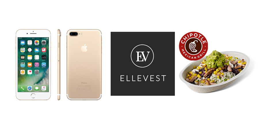 Apple iPhone, Ellevest Investing, Chipotle Burrito Bowl, College Blogger, Lifestyle Blogger