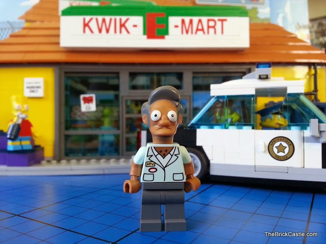 LEGO Simpson's Apu's Kwik-E-Mart Review set 71016
