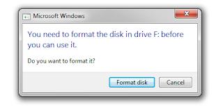 Solusi mengatasi the disk is write-protected berhasil