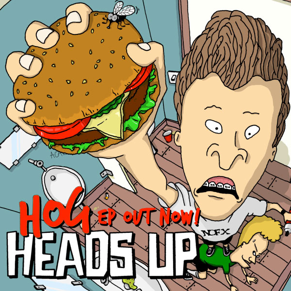 "Heads Up release video for ""Groezrock Hemorrhoids"""