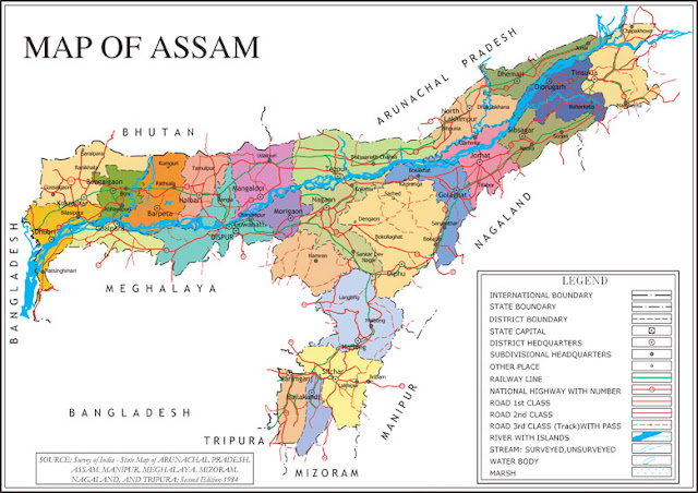 Agroclimatic Zones of Assam
