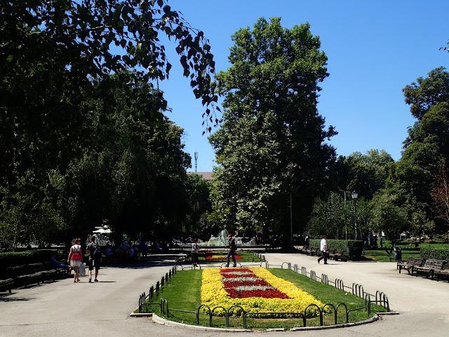 W stolicy Bułgarii jest sporo zieleni
