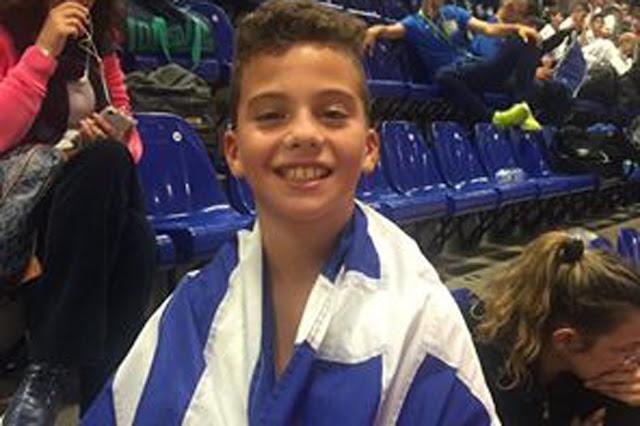 Χρυσός πρωταθλητής στο 19ο Πανευρωπαϊκό Πρωτάθλημα Καράτε της WIKF στην Ολλανδία ο Άγγελος Πλευρίτης από την Ύδρα