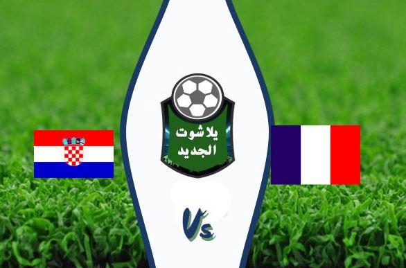 نتيجة مباراة فرنسا وكرواتيا اليوم الثلاثاء 8 / سبتمبر / 2020 دوري الامم الاوروبية