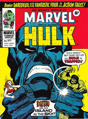 Mighty World of Marvel #177, the Hulk