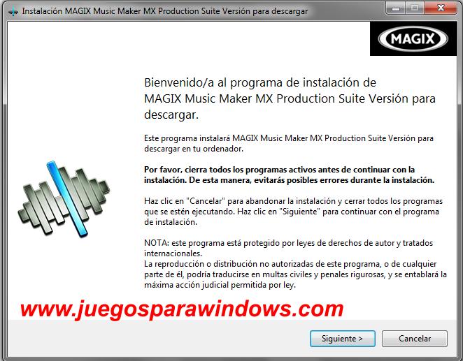 Music Maker MX Production Suite