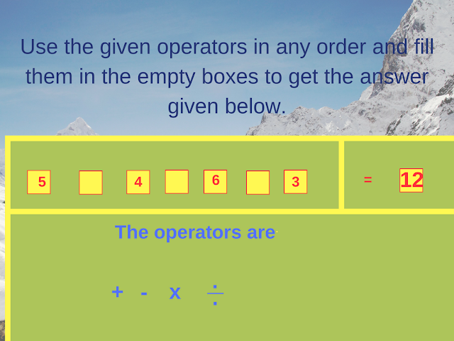 Math Operator Equation Brain Teaser-2