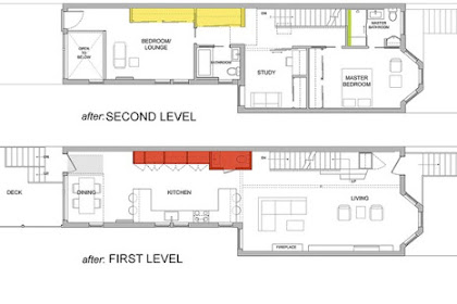 This Is Small Row Home Renovation Plan By Kube Architects, Read This Information