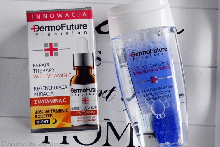DERMOFUTURE | Zestaw: kuracja z witaminą C oraz płyn z micelami witamin