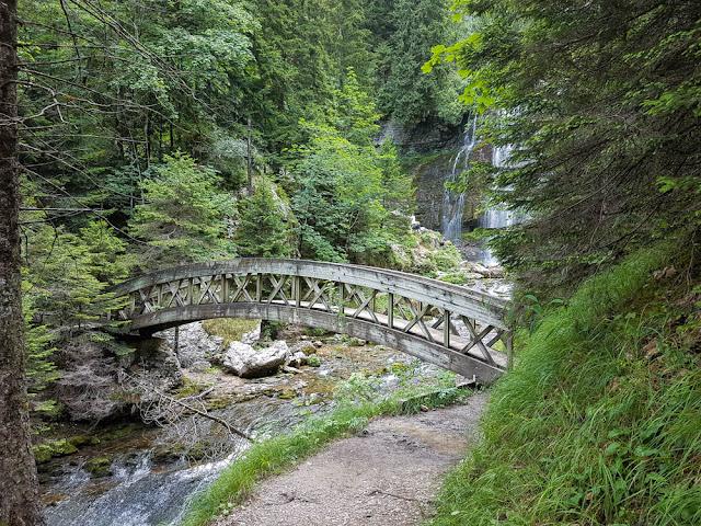photo cascade pont
