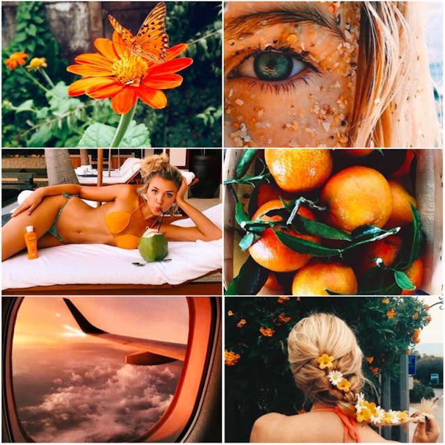 Inspiração de fotos laranjas
