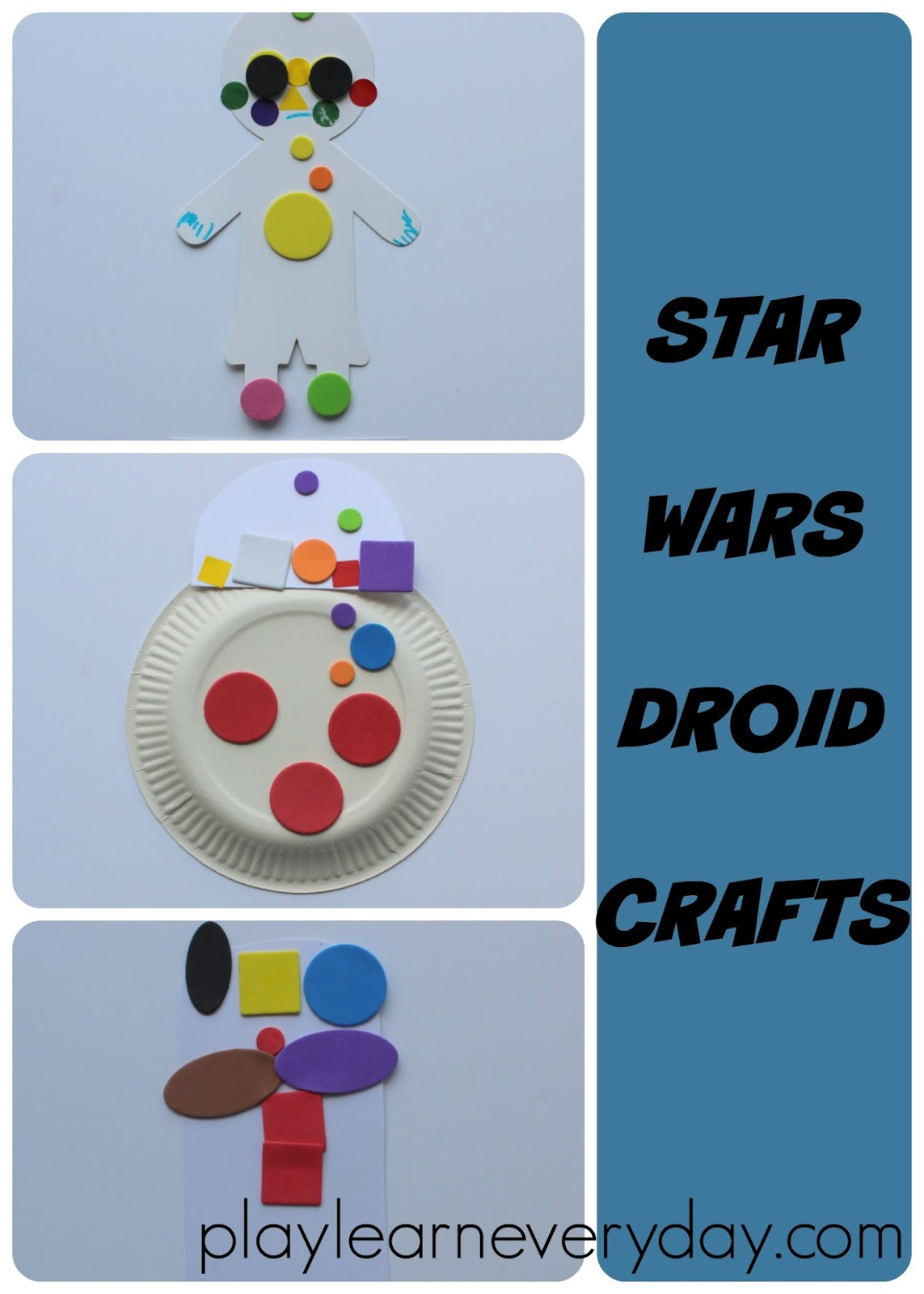 Star Wars Droid Crafts - Play and Learn Every Day