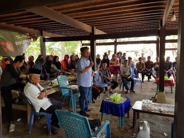 Sosialisasi dan Silaturahmi di Belawa, Warga Komitmen Menangkan BARAKKA