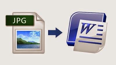 كيف تقوم بتحويل صورة GPEJ إلى ملف WORD و التعديل على النص المكتوب في الصورة