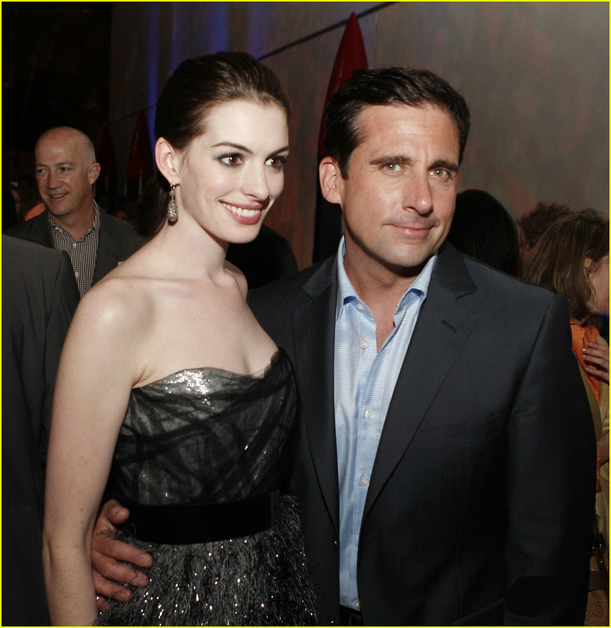 Anne Hathaway Boyfriend: Anne Hathaway With Boyfriend Raffaello Follieri Photo