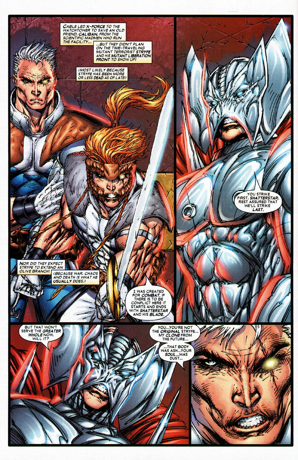 Read online X-Force (2004) comic -  Issue #5 - 16