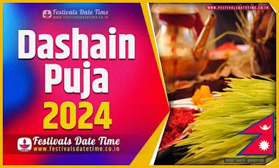 2024 Dashain Date Time, 2024 Dashain Nepali Calendar