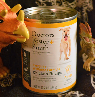 Grain-free chicken-based dog food