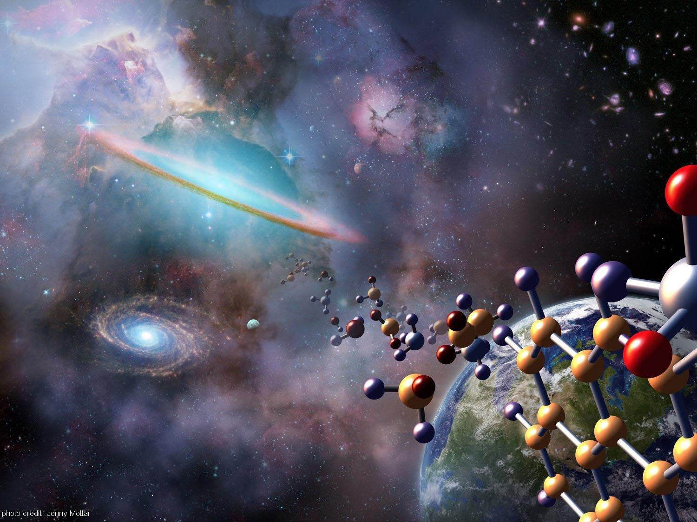 Resultado de imagen de la vida llego del espacio