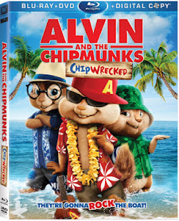 Alvin & the Chipmunks Chipwrecked Jumbo Coloring & Activity Book ... | 320x259