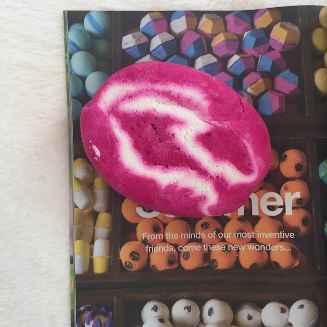 Lush | The Comforter Bubble Bar