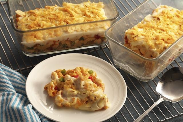 No Fuss Chicken Baked Mac Recipe