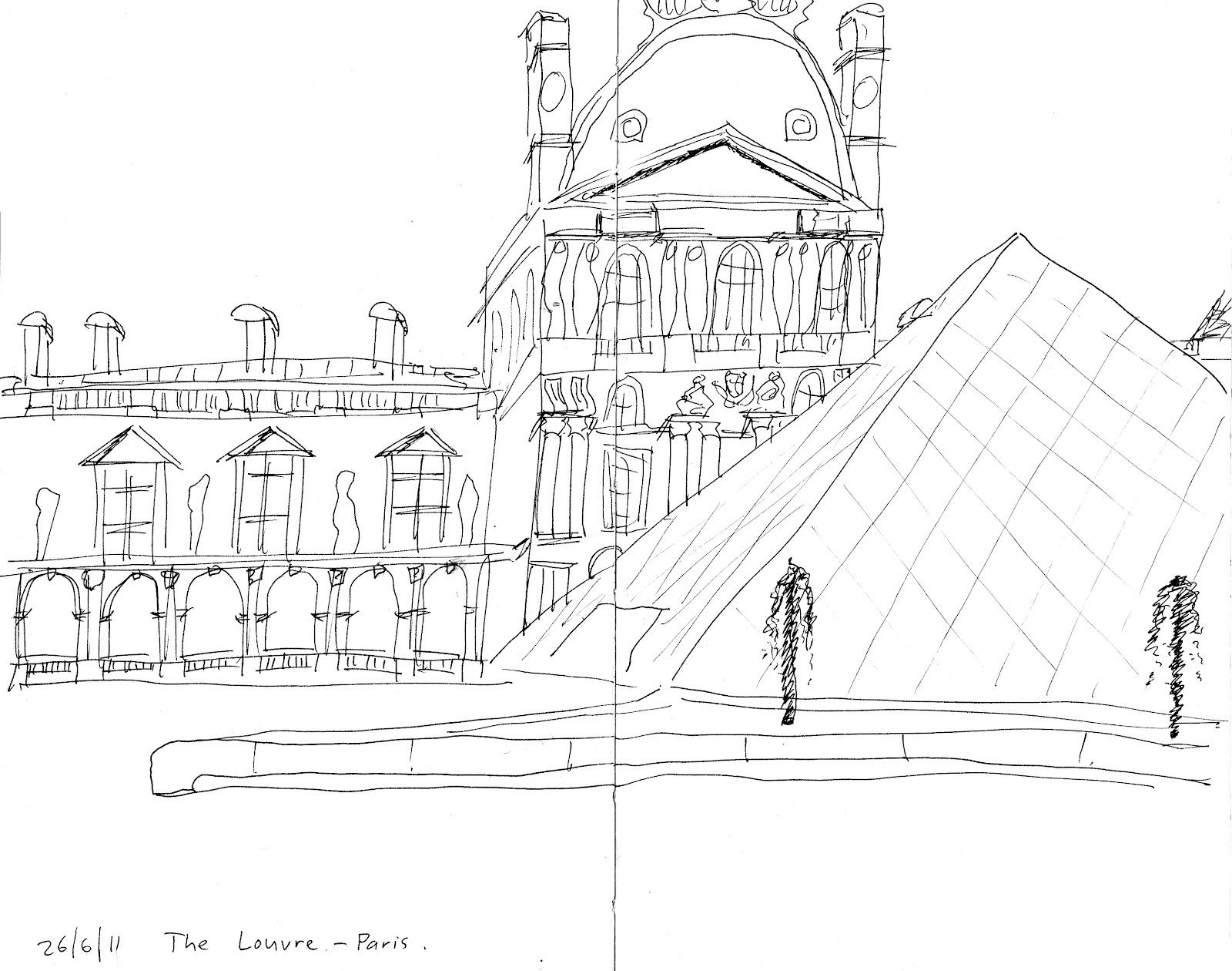 I Sketch London Musee Du Louvre
