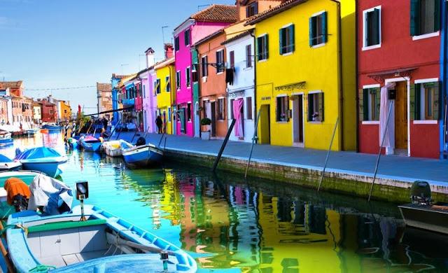 Ilha de Murano em Veneza