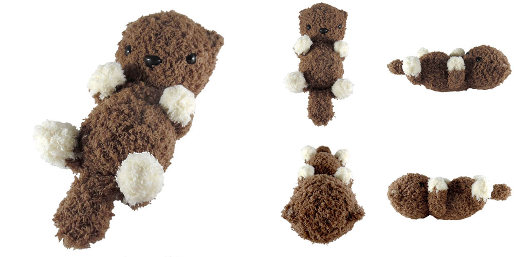 Amigurumi Otter Family Free Crochet Pattern • Spin a Yarn Crochet   500x1000