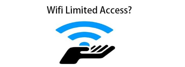 2 Cara Mengatasi Wifi Limited Access Pada Laptop Terbaru