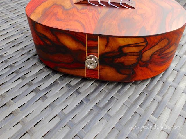 Cocobolo tenor ukulele base