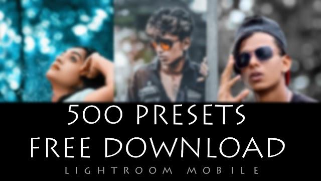 500 lightroom presets free download 2020
