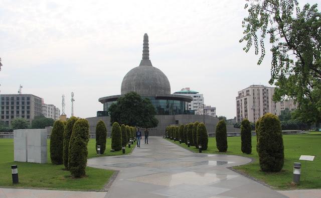 Patliputra Karuna Stupa, Buddha Smriti Park , Patna  Bihar