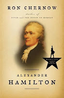 Book cover, Alexander Hamilton by Ron Chernow