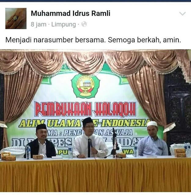 Kronologi penipuan Halaqoh yang mengecewakan Hadirin