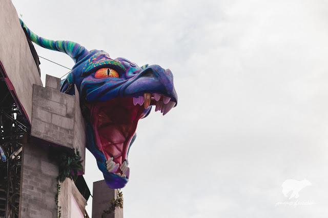 SOS Fest dragon.