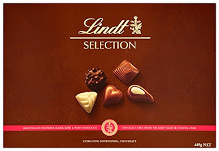 Yum, Sweet, Chocolate Boxes, Lindt Selection, 428g – drop price £10.00