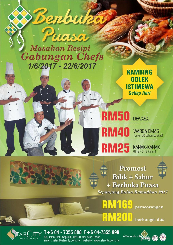 Buffet Ramadhan starcity hotel kedah