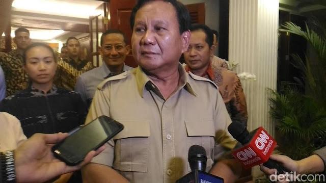 Ini Tanggapan Prabowo soal 5 Poin Kontrak Politik SBY