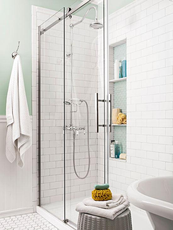 Ducha Un baño clásico CocoChic&Deco
