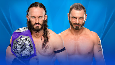 WWE Cruiserweight Champion Neville vs. Austin Aries