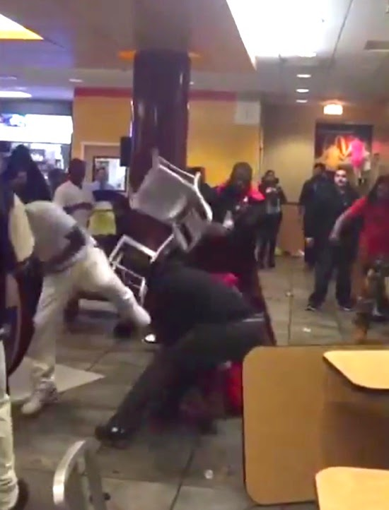 Meanwhile In Chicago… Big fight at Rock N Roll McDonald's ...