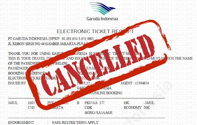 Refund Tiket Pesawat