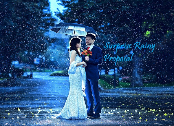Propose Day Rain Whatsapp Status DP
