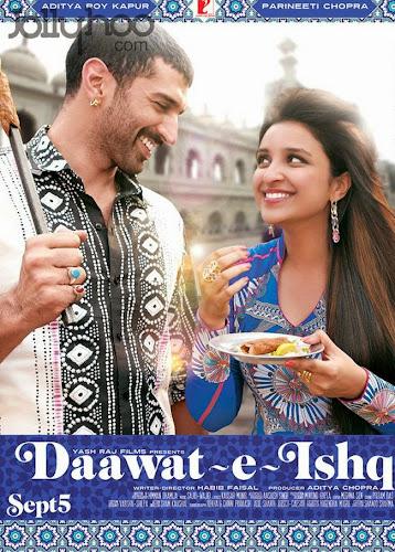 Daawat - E - Ishq (2014) Movie Poster